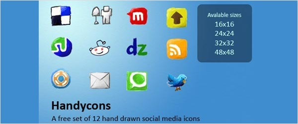 fsmis 03 30 Free Social Media Icon Sets For Bloggers