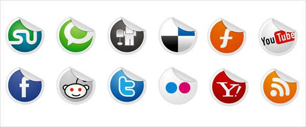 fsmis 051 30 Free Social Media Icon Sets For Bloggers