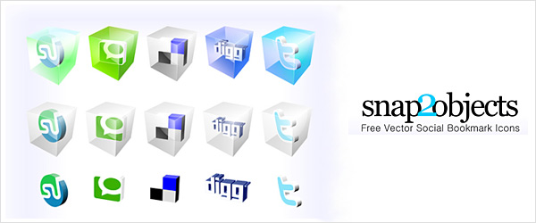 fsmis 20 30 Free Social Media Icon Sets For Bloggers