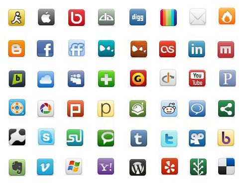 social networking iconpack 452 30 Free Social Media Icon Sets For<br /> Bloggers