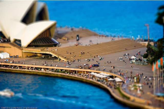 tilt shift 18 35 Awesome Examples of Tilt Shift Photography