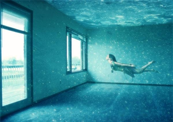 HowtoCreateanUnderwaterApartmentinPhotoshopCustom 21 Fresh and  Excellent Photoshop Tutorials from May 2010