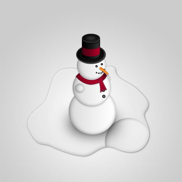 snowman 21 Fresh and Excellent Photoshop Tutorials from May 2010